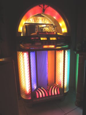wurlitzer 1100 jukebox amerikana